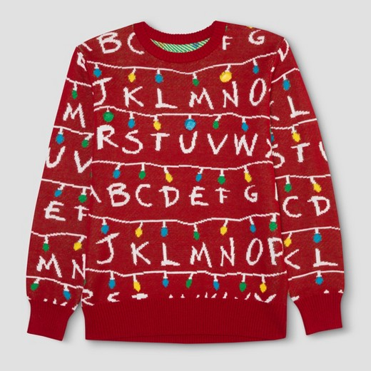 Target Mens Stranger Things Sweater