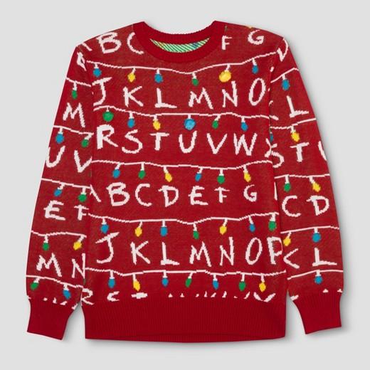 Target Mens Stranger Things Sweater