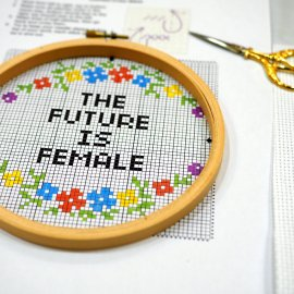 Cross Stitch Lesson with Debbie Stoller